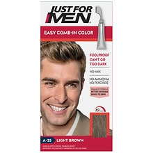 Just For Men AutoStop Haircolor Light Brown A-25