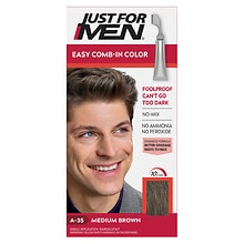 Haircolor, Medium Brown A-35