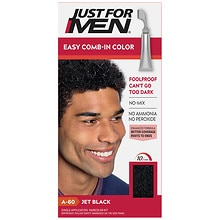 Just For Men AutoStop Foolproof Haircolor Jet Black A-60