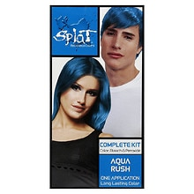 Rebellious Colors Complete Hair Color Kit, Aqua Rush
