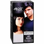 Splat Rebellious Colors Complete Hair Color Kit Jet Black