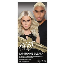 Splat Rebellious Colors Complete Hair Bleach Kit Lightening Bleach