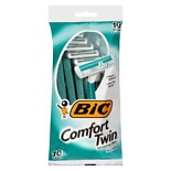 BiC Comfort Twin Sensitive for Men, Disposable Shaver