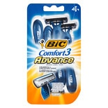 BiC Comfort 3 Advance Shavers for Men