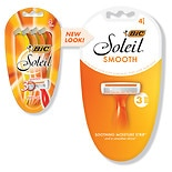 BIC Soleil Triple Blade Shavers for Women