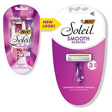 BIC Soleil Twilight Triple Blade Disposable Shavers for Women Lavender