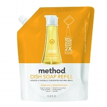 method Dish Soap Refill Ginger Yuzu