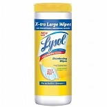 Lysol X-Tra Large Disinfecting Wipes, Lemon & Lime