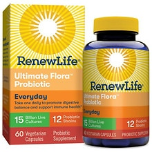 ReNew Life Ultimate Flora Adult, Probiotic, 15 Billion, Veggie Capsules
