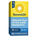 ReNew Life Ultimate Flora Extra Care Probiotic, 30 Billion, Veggie Capsules