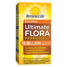 ReNew Life Ultimate Flora Daily Care Probiotic Veggie Capsules