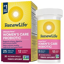 Ultimate Flora Women's Care Probiotic, 25 Billion, Veggie Capsules