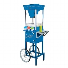 Nostalgia Electrics SCC-200 Vintage Collection Snow Cone Cart Blue