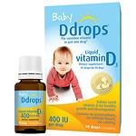 Save 20% on select Ddrops Liquid Vitamin D