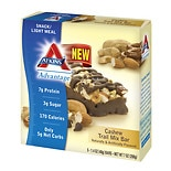 Atkins Advantage Snack Bars Cashew Trail Mix