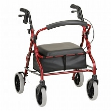Nova Zoom 18 Rolling Walker Red