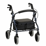 Nova Zoom Rolling Walker 18 inch Blue