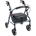 Nova Zoom Rolling Walker 20 inch Blue