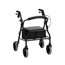 Nova Zoom Rolling Walker 4220BK 20 inch Black