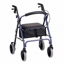 Zoom 22 Rolling Walker, Blue