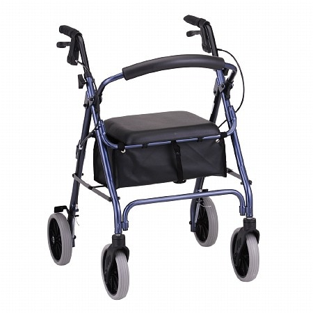 Nova Zoom Rolling Walker 22 inch Blue