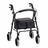 Nova Zoom 22in. Rolling Walker 4222BK Black