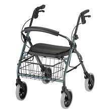 Nova Cruiser Deluxe Rolling Walker Green