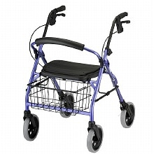 Cruiser Deluxe Rolling Walker, Purple