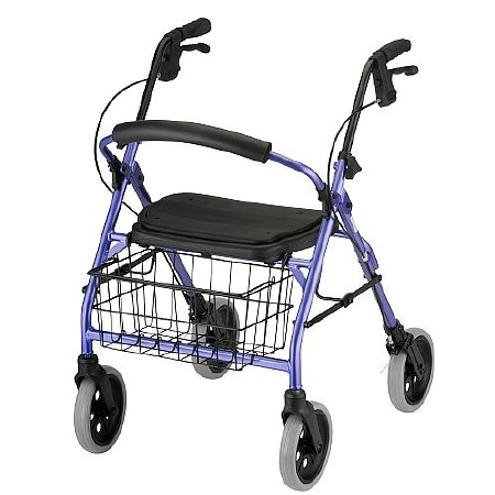 Nova Cruiser Deluxe Rolling Walker Purple