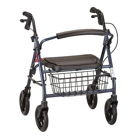 Nova Mini Mack Heavy Duty Rolling Walker Blue