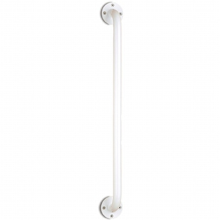 Nova Wall Grab Bar with Ivory Powder Coating 24 inch