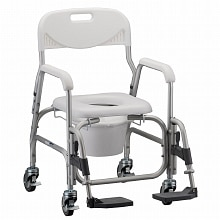Nova Deluxe Shower Chair and Commode 8801
