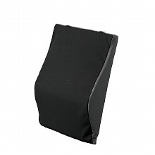Back Cushion with Lumbar Support 2611BK-18, 18 inch