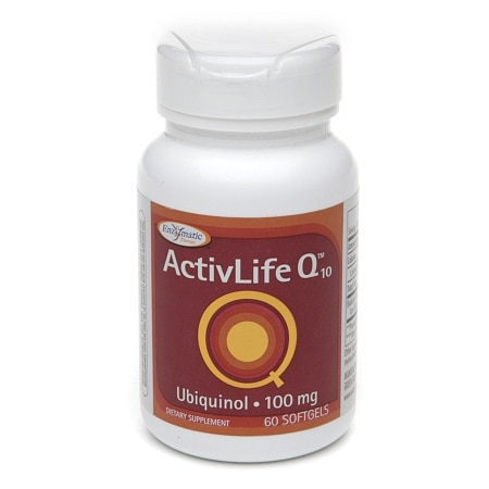 Enzymatic Therapy ActivLife Q10 Ubiquinol 100mg, Softgels