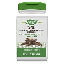 Enzymatic Therapy DGL Fructose Free Chewable Tablets