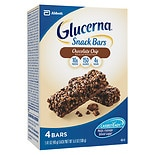 Glucerna Hunger Smart HungerSmart Snack Bars 4 Pack Chocolate Chip Crisp