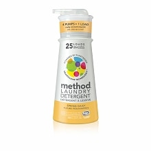method Laundry Detergent, 25 Loads Spring Daisy