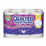 Save up to 15% on Quilted Northern toilet paper.