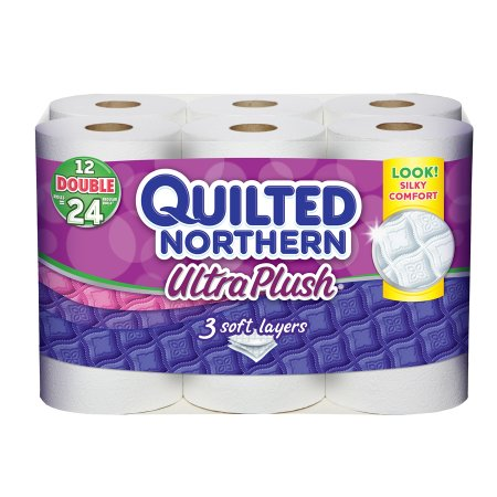 Quilted Northern Ultra Plush Ultra Plush Bath Tissue, Double Roll