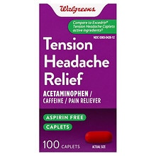 Walgreens Tension Headache Caplets