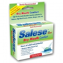 Salese Soothing, Hours of Dry Mouth Relief, Moisturizing Lozenges Wintergreen