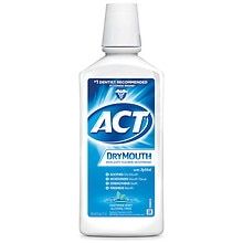 Total Care Dry Mouth Anticavity Fluoride Rinse Soothing Mint