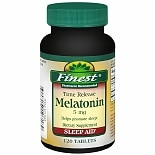 Melatonin 5 mg Dietary Supplement Tablets