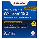 Walgreens Wal-Zan 150 Acid Reducer Tablets