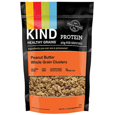 KIND Healthy Grains Clusters Peanut Butter Whole Grain