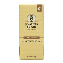 Scharffen Berger Semi-Sweet 62% Cacao Bar