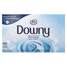 Downy Fabric Softener Sheets Clean Breeze