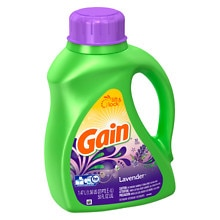 Gain Liquid Detergent with FreshLock, 32 Loads Lavender