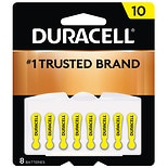 Duracell Hearing Aid Zinc Air Batteries Size 10