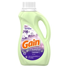 Gain Liquid Fabric Softener with FreshLock, 60 Loads Lavender